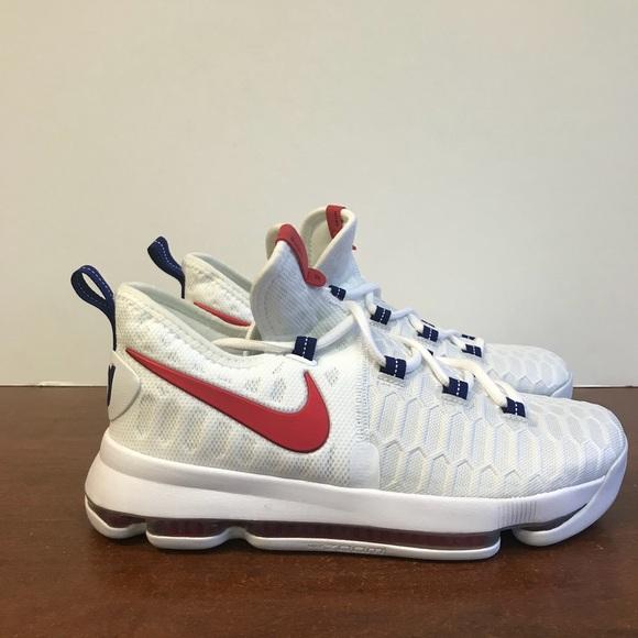 Nike Zoom KD9 USA Olympics Shoes. 6.5Y or 8W 2504dfe99